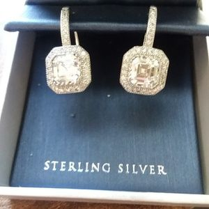 Sterling Silver Drop Earrings NWT